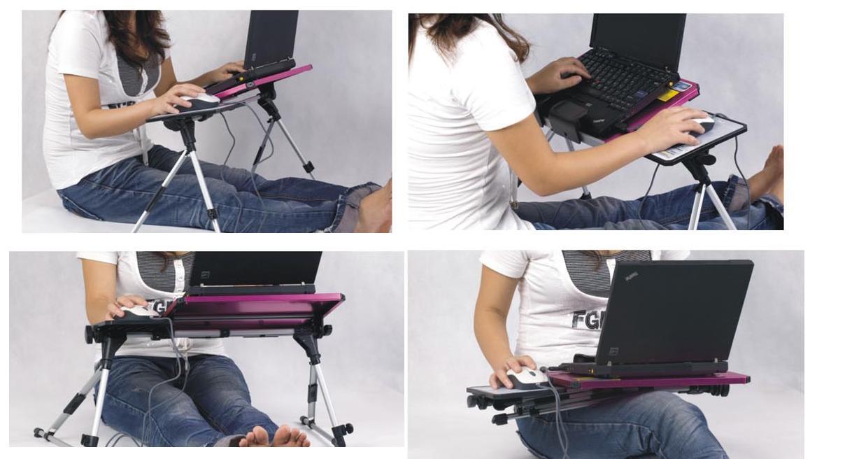 Meja Laptop Notebook Kuat Ringan Mudah Dilipat Bina Teknik Portable Desk Multifungsi 5 Kelebihan